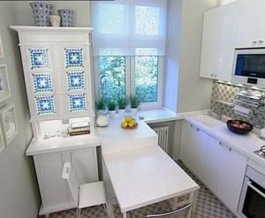маленькая кухня мебель дизайн