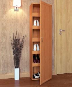 высокий шкаф для обуви