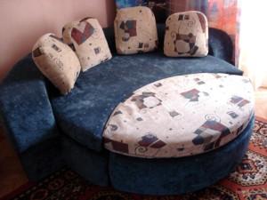 Разложенная диван-кровать