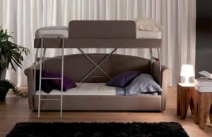 Диван трансформирующийся в двухъярусную кровать
