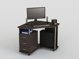 Компьютерный стол на колесиках