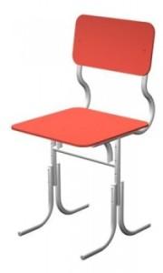 Регулируемый стул на металлокаркасе