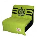 кресло кроватьь для ребенка зеленое