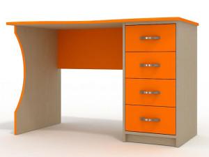 Письменный стол для школьника ораньжевый