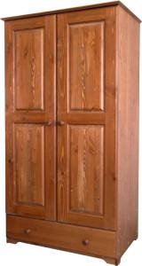 деревянный шкаф двухстворчатый