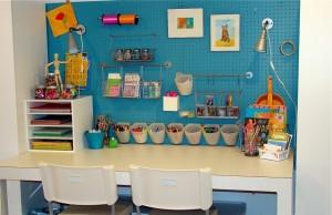 письменный стол для двоих детей белый
