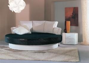 контрастная диван-кровать